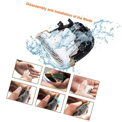 oneisall dog shaver clippers low noise - best dog clippers