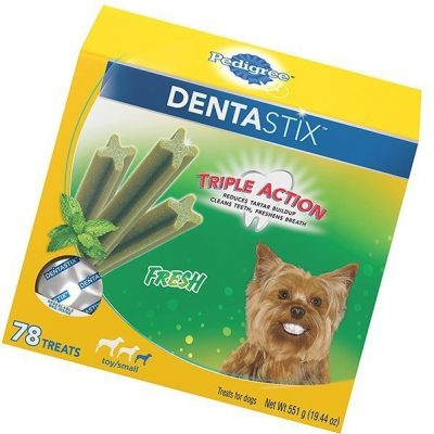 pedigree dentastix fresh treats for toy/small and medium dogs - best dental chews for dogs