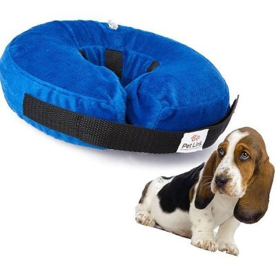 pet link inflatable dog collar - best inflatable dog collar