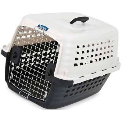 petmate compass plastic pets kennel with chrome door - best large dog traveling crate