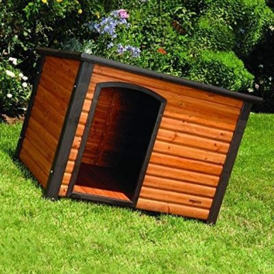 petmate precision extreme outback log cabin - best insulated dog house