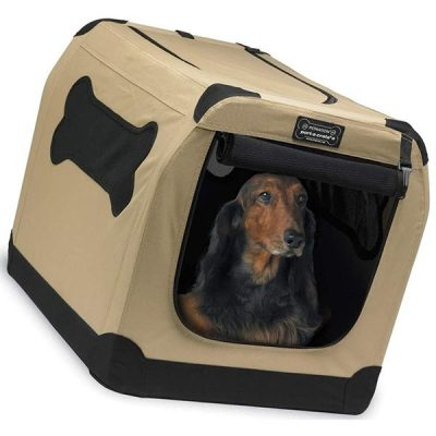 petnation port-a-crate indoor and outdoor home for pets - best dog crate
