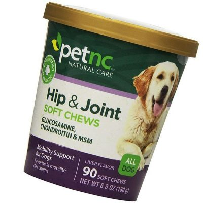 petnc natural care hip and joint soft chews for dogs - best dog joint supplements