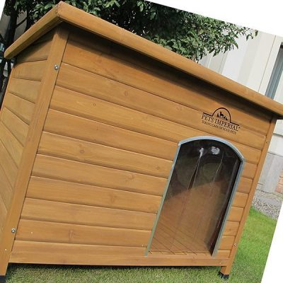 pets imperial extra large insulated wooden norfolk dog kennel - best insulated dog house