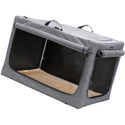 petsfit travel pet home indoor/outdoor for dog steel frame home - best large dog traveling crate