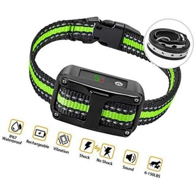 petyeah dog bark collar-5 adjustable sensitivity and intensity levels - best stop bark collars