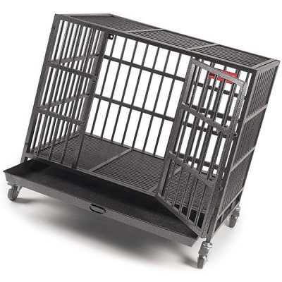 proselect empire dog cage - best heavy duty dog crate