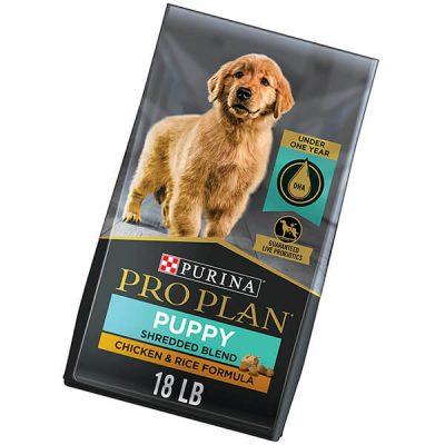 purina pro plan puppy chicken & rice dry dog food - best puppy food