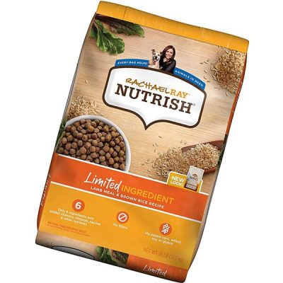 rachael ray nutrish just 6 limited ingredient diet dry dog food - best cheap dog food