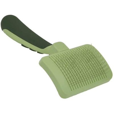 safari by coastal self-cleaning slicker brush - best dog brush