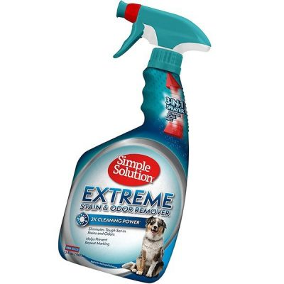 simple solution extreme pet stain and odor remover - best pet odor remover