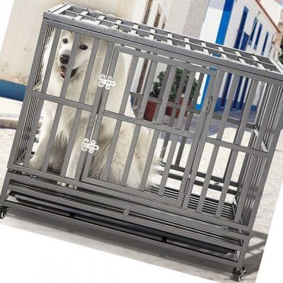 smonter heavy duty dog crate - best heavy duty dog crate