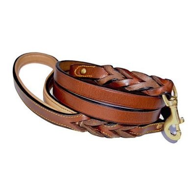 soft touch collars - leather braided dog leash - best dog frisbee