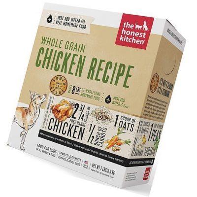 the honest kitchen human grade dehydrated organic whole grain dog food - best low sodium dog food