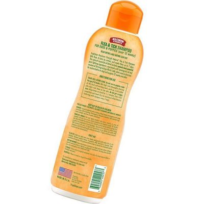 tropiclean natural flea & tick shampoos for dogs - best flea shampoo
