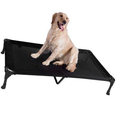 veehoo elevated dog bed - best waterproof dog beds