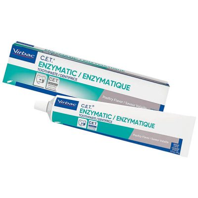 virbac cet enzymatic toothpaste - best dog toothpaste