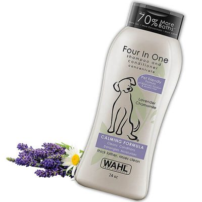 wahl 4-in-1 calming pet shampoo - best dog shampoo