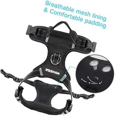 winsee dog harness no pull - best escape proof dog harness