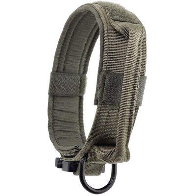 yunlep adjustable tactical dog collar - best wide dog collars