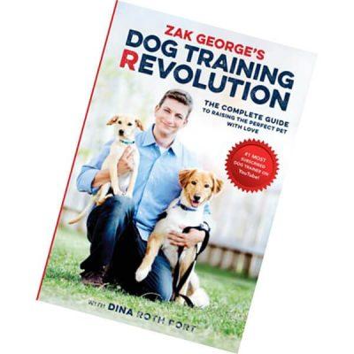 zak george's dog training revolution - best dog training books