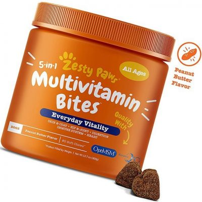 zesty paws multivitamin for dogs - best dog vitamins