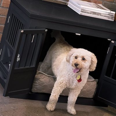 zoovilla dog crate - best wooden dog crates